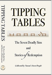 TIPPING TABLES – The seven deadly sins and stories of redemption